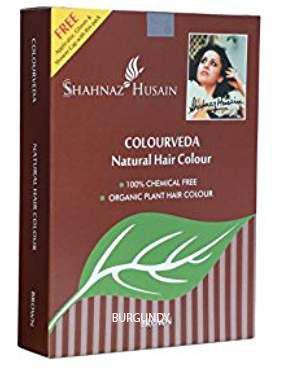 Shahnaz Husain Herbal Beauty Products: BURGUNDY Colorveda Organic ...