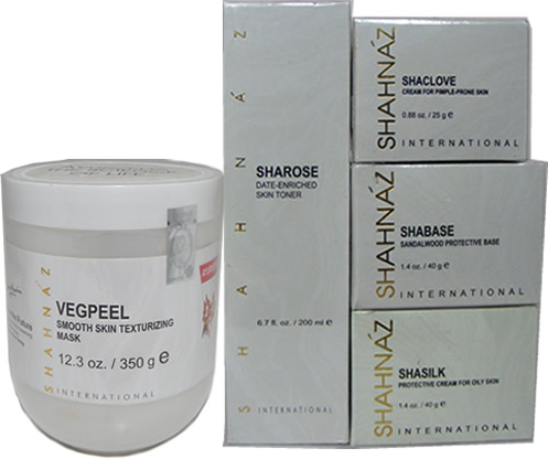 Shahnaz Husain Vegetable peel VegPeel Kit for Acne Blemish